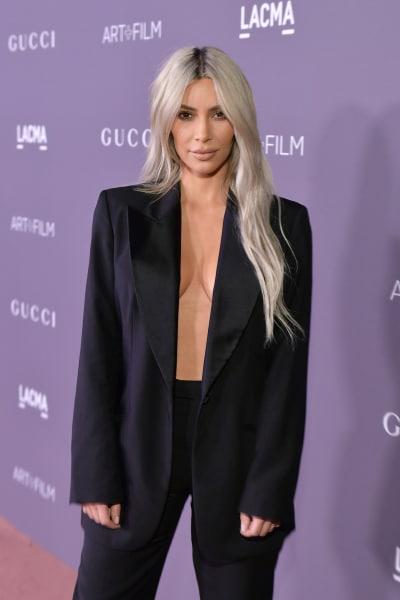Kim Kardashian, No Bra at All