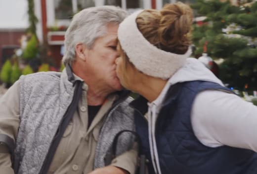 Matt Roloff Kisses Caryn Chandler