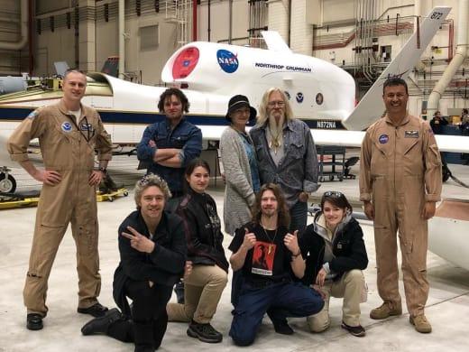 Ami Brown & Family with NASA