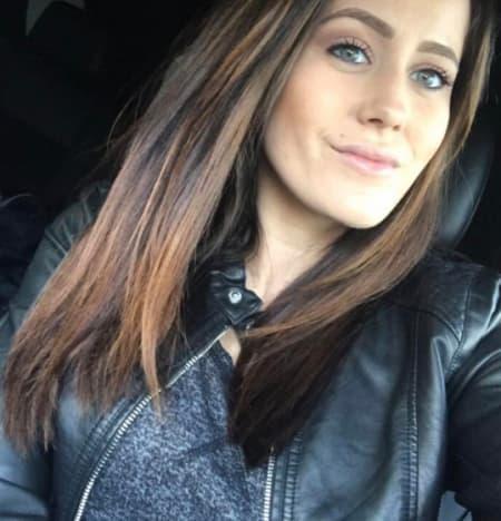 Jenelle Evans' Car Selfie