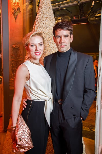 Scarlett Johansson and Romain Dauriac Image