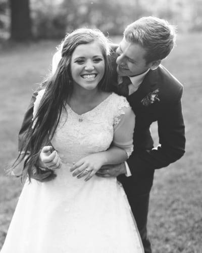 Joy-Anna Duggar Wedding Photo
