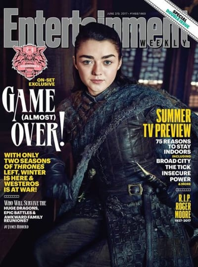 Game of Thrones Entertainment Weekly Cover