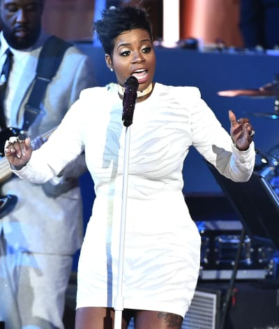 Fantasia Barrino in White