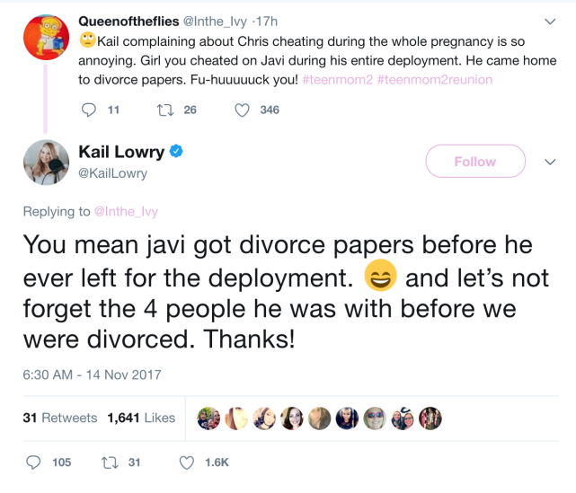 Kails bombshell tweet