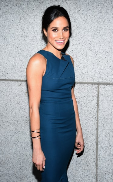 Meghan Markle in Blue