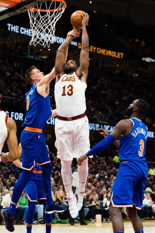 Tristan thompson dunk