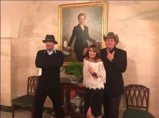 Rock, Nugent, Palin ... Clinton?
