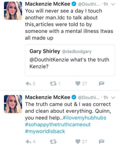 Mackenzie McKee tweets
