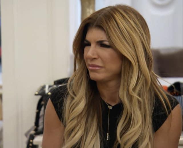 Teresa giudice is not impressed