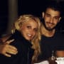 Britney spears and sam ashgari new years eve pic