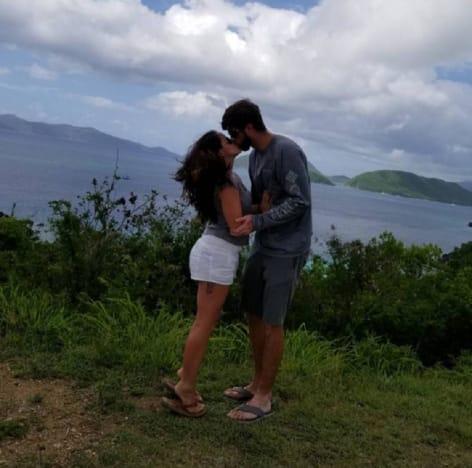 Jenelle Evans and David Eason Kissing