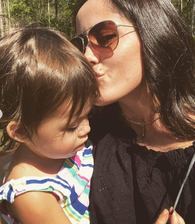 Jenelle evans with ensley