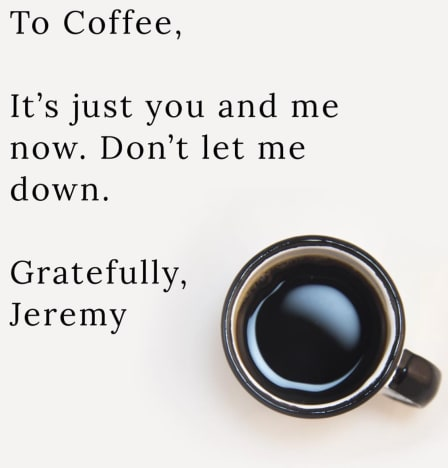 Jeremy Vuolo coffee