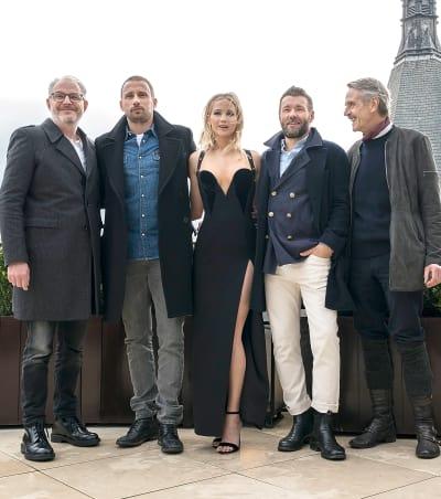 Jennifer Lawrence, Co-Stars