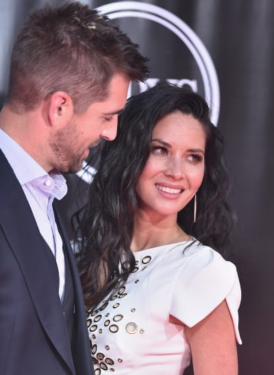 Aaron Rodgers and Olivia Munn at ESPYs