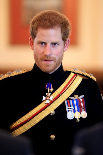 Prince Harry in a Uniform