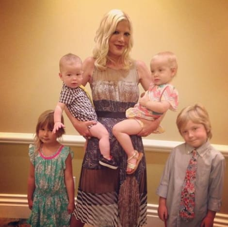 Tori Spelling, Children