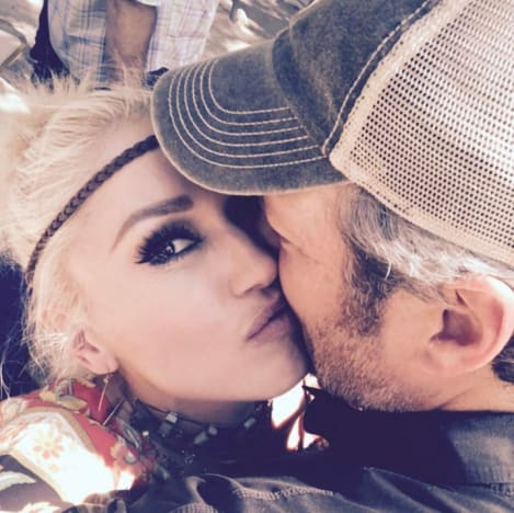 Gwen Stefani and Blake Shelton's 41st Birthday