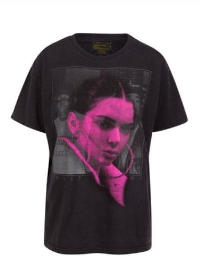 Kendall Jenner Notorious B.I.G. Shirt
