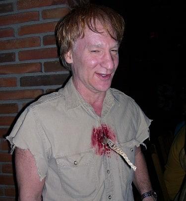 Bill maher as steve irwin