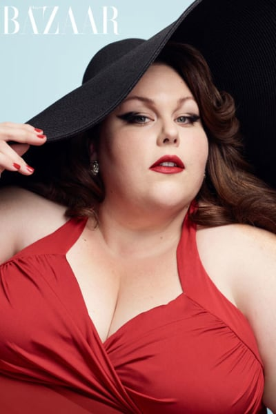 Chrissy Metz for Harper's Bazaar