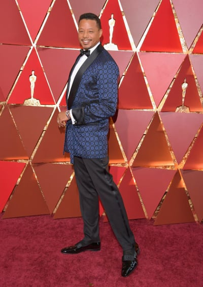 Terrence Howard at 2017 Oscars