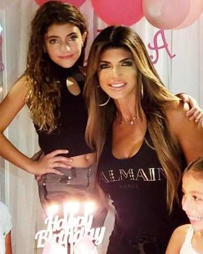 Teresa Giudice and Audriana Giudice, 9th Birthday Party