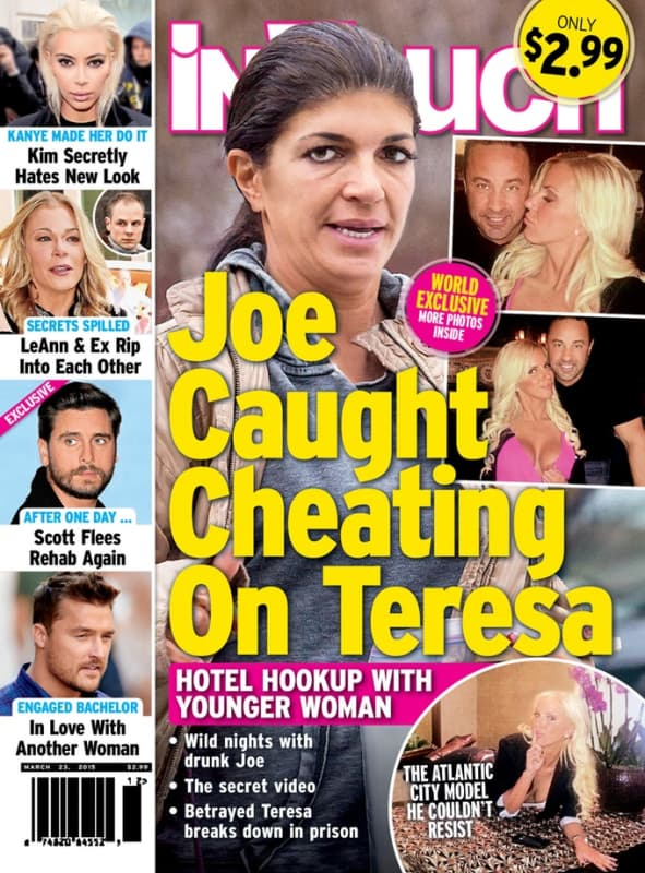 Joe giudice cheating