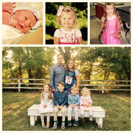 Anna Duggar Photo Collage