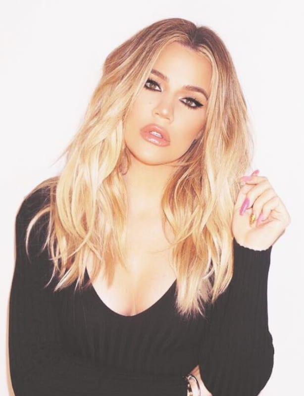 Khloe kardashian on insta