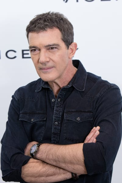 Antonio Banderas Thoughtful