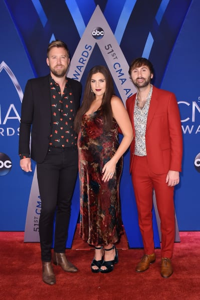 Lady Antebellum at CMAs