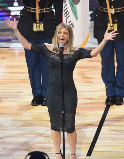Fergie Sings