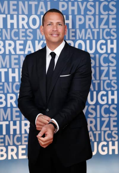 Alex Rodriguez in a Nice Suit