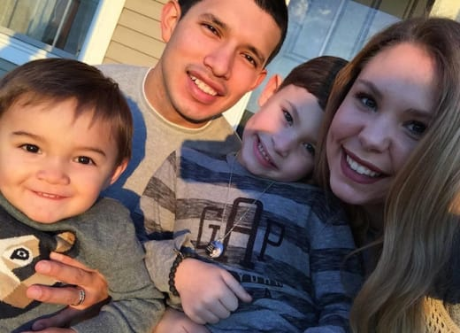 Javi, Kailyn and Kids