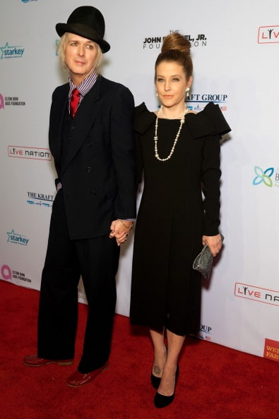 Lisa Marie Presley and Michael Lockwood Attend Charity Event