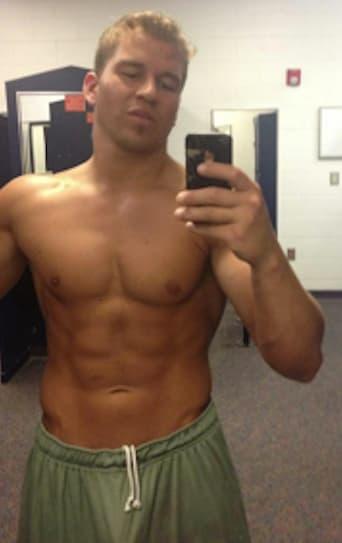 Nathan griffith shirtless