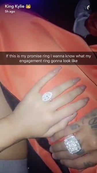 Kylie Jenner Promise Ring