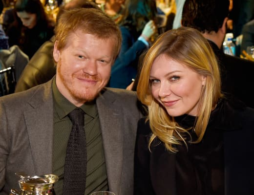 Jesse Plemmons and Kirsten Dunst