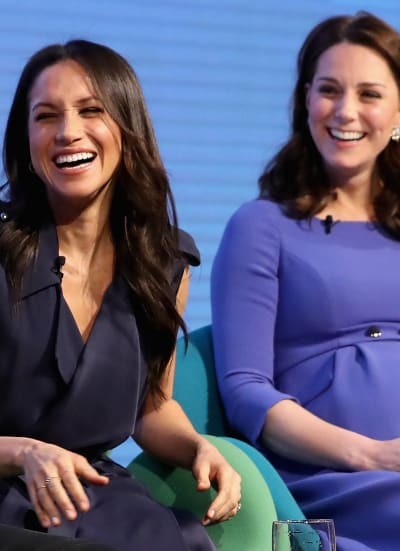 Meghan Markle and Kate Middleton! Together!