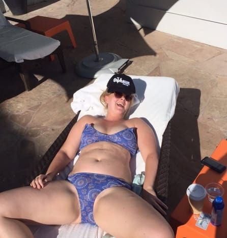 Amy Schumer's Bikini Day Photo