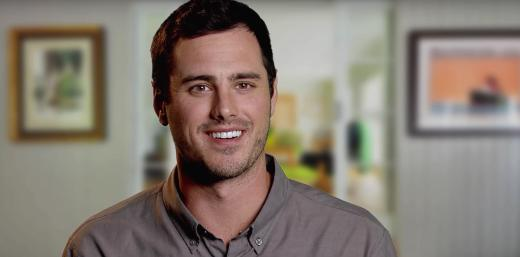 Ben Higgins Smiles for the Camera on Ben & Lauren