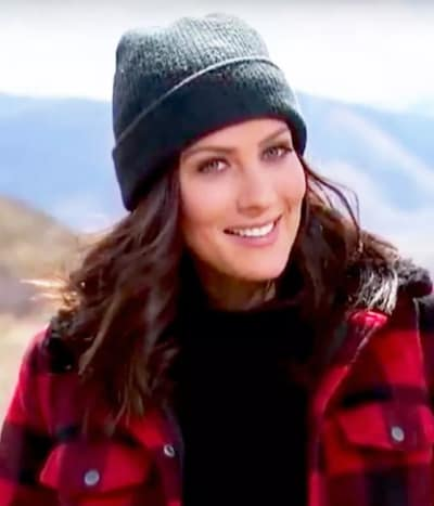 Becca Kufrin in a Hat