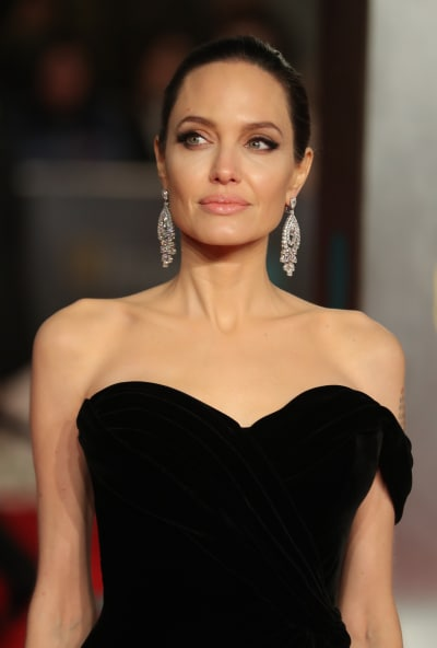 Angelina Jolie BAFTA Pic