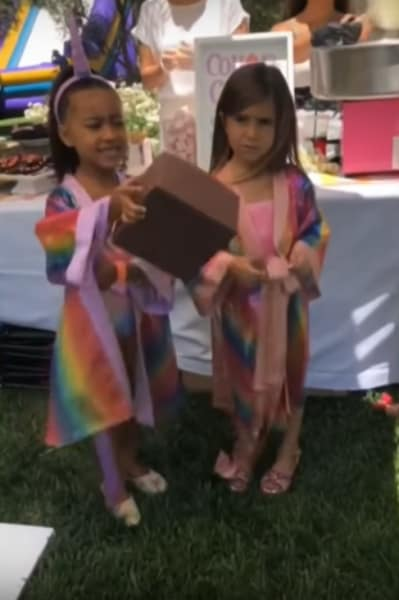 North West and Penelope Disick, Birthday Party!