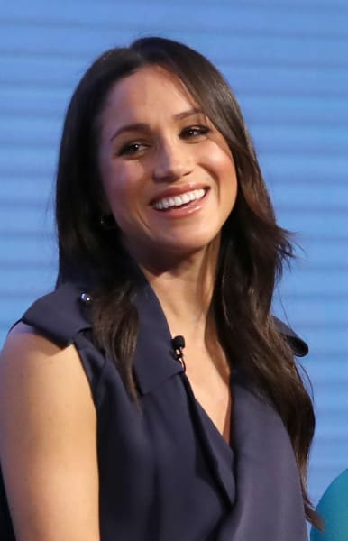Meghan Markle with a Smile