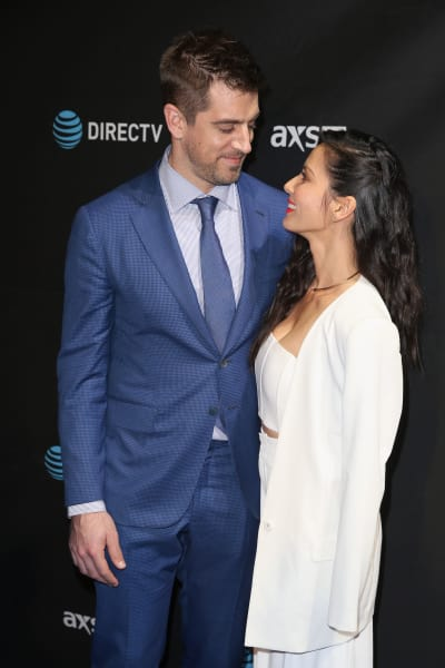 Aaron Rodgers and Olivia Munn Togeter