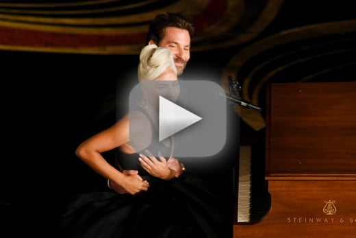Lady gaga and bradley cooper sing shallow get all of america pre