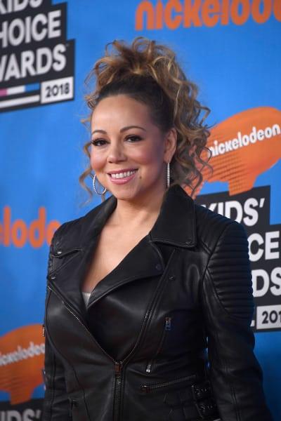 Mariah Carey at Nickelodeon